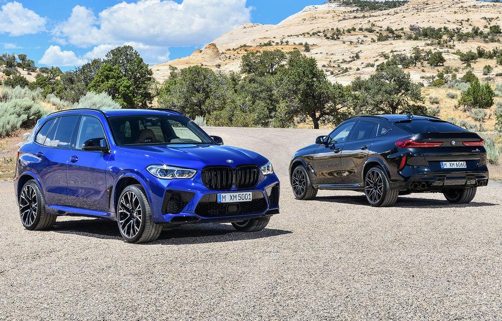 BMW a prezentat noile X5 M și X6 M: tracțiune integrală M xDrive și versiune Competition cu 625 CP - Poza 1