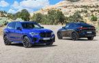 BMW a prezentat noile X5 M și X6 M: tracțiune integrală M xDrive și versiune Competition cu 625 CP