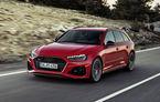 Audi prezintă RS4 Avant facelift: mici modificări ale părții frontale și motor V6 biturbo de 2.9 litri care dezvoltă 450 CP și 600 Nm