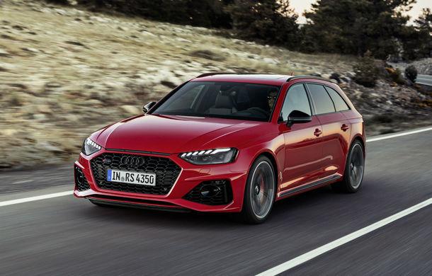 Audi prezintă RS4 Avant facelift: mici modificări ale părții frontale și motor V6 biturbo de 2.9 litri care dezvoltă 450 CP și 600 Nm - Poza 1