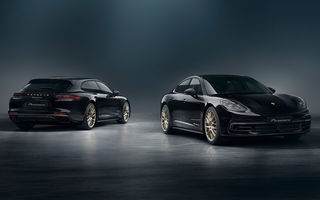 Porsche Panamera a împlinit 10 ani: nemții au pregătit o ediție aniversară