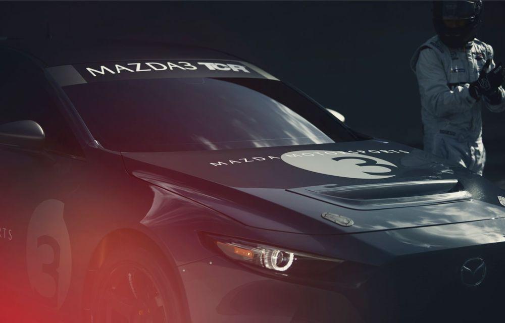 Mazda 3 primește o versiune de circuit: 350 CP și pachet aerodinamic special - Poza 12