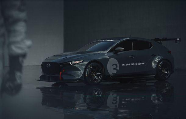Mazda 3 primește o versiune de circuit: 350 CP și pachet aerodinamic special - Poza 6
