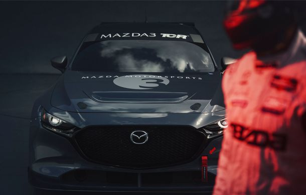 Mazda 3 primește o versiune de circuit: 350 CP și pachet aerodinamic special - Poza 11