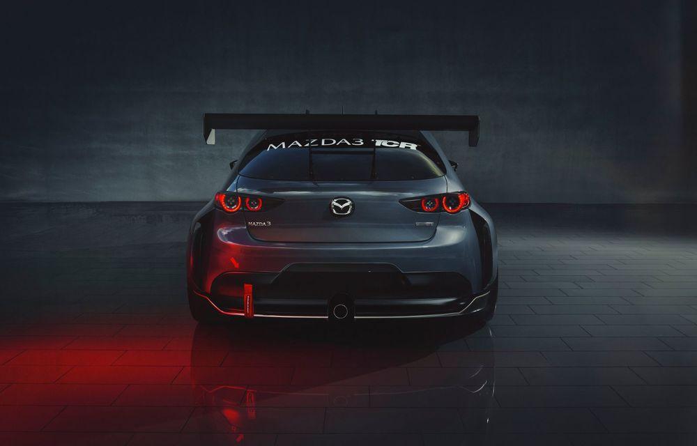 Mazda 3 primește o versiune de circuit: 350 CP și pachet aerodinamic special - Poza 8