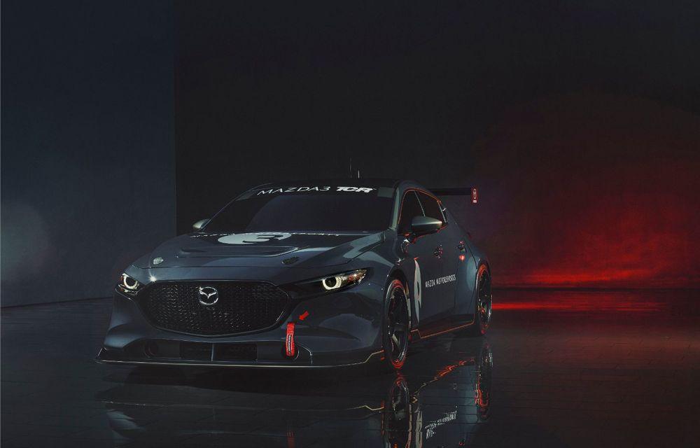 Mazda 3 primește o versiune de circuit: 350 CP și pachet aerodinamic special - Poza 3