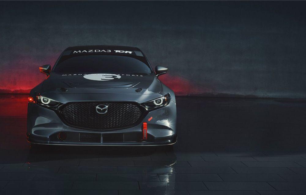 Mazda 3 primește o versiune de circuit: 350 CP și pachet aerodinamic special - Poza 2