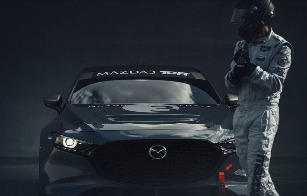 Mazda 3 primește o versiune de circuit: 350 CP și pachet aerodinamic special - Poza 10
