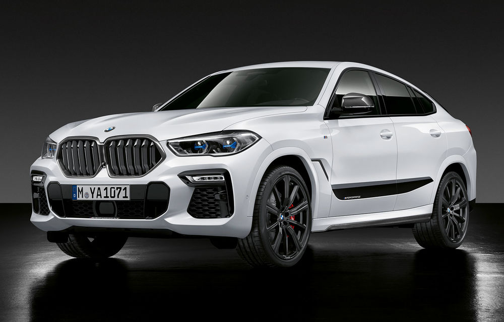 Pachete M Performance pentru BMW X5 M, X6, X6 M și X7: elemente de caroserie din fibră de carbon și un sistem de frânare mai bun - Poza 1