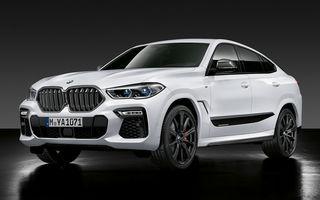 Pachete M Performance pentru BMW X5 M, X6, X6 M și X7: elemente de caroserie din fibră de carbon și un sistem de frânare mai bun
