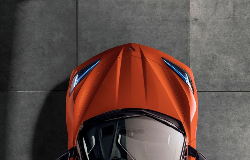 Chevrolet a prezentat noul Corvette Convertible: 502 CP și plafon de tip hardtop care poate fi operat până la 48 km/h - Poza 14
