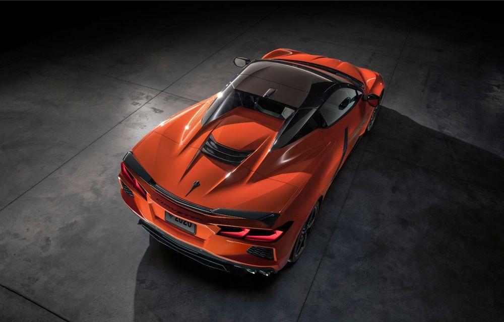 Chevrolet a prezentat noul Corvette Convertible: 502 CP și plafon de tip hardtop care poate fi operat până la 48 km/h - Poza 8