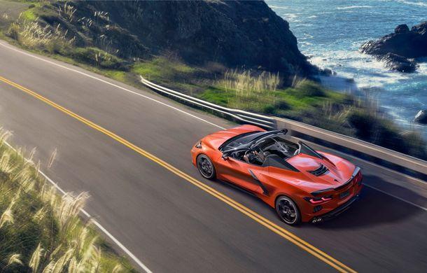 Chevrolet a prezentat noul Corvette Convertible: 502 CP și plafon de tip hardtop care poate fi operat până la 48 km/h - Poza 2