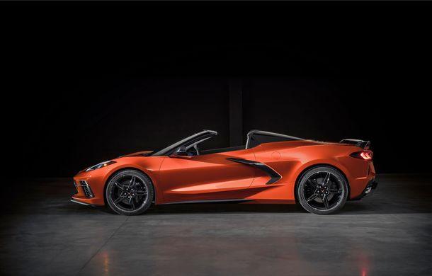 Chevrolet a prezentat noul Corvette Convertible: 502 CP și plafon de tip hardtop care poate fi operat până la 48 km/h - Poza 10