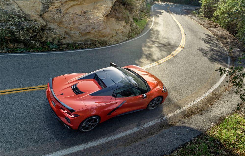 Chevrolet a prezentat noul Corvette Convertible: 502 CP și plafon de tip hardtop care poate fi operat până la 48 km/h - Poza 5