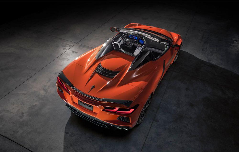 Chevrolet a prezentat noul Corvette Convertible: 502 CP și plafon de tip hardtop care poate fi operat până la 48 km/h - Poza 7