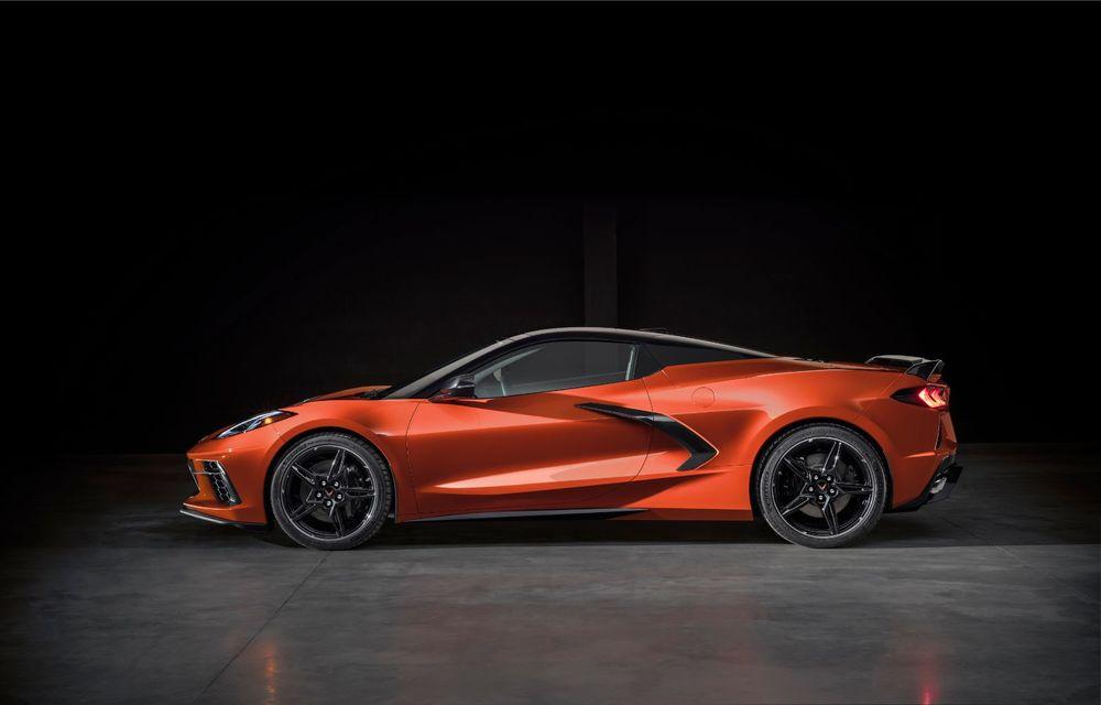 Chevrolet a prezentat noul Corvette Convertible: 502 CP și plafon de tip hardtop care poate fi operat până la 48 km/h - Poza 11