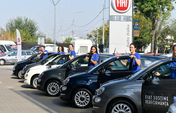 Fiat devine noul partener al clubului de handbal CSM București: jucătoarele au primit 8 unități Fiat 500 pentru o perioadă de 12 luni - Poza 3