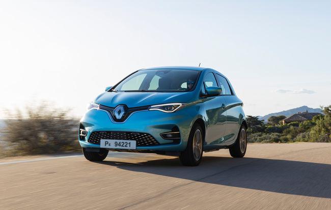 Test drive Renault Zoe