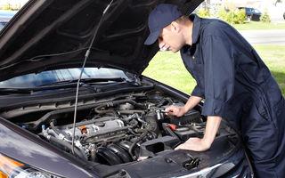 Avertisment: peste 10.000 de service-uri auto funcţionează fără autorizaţie în România