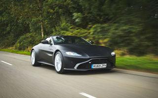 Primele imagini cu noul Aston Martin Vantage Roadster: prezentarea oficială va avea loc în următoarele luni