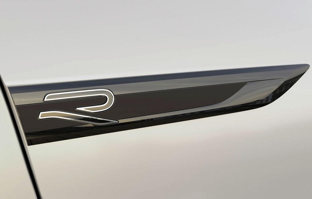 Modificări și în gama de performanță: Volkswagen a pregătit un logo nou pentru versiunile sport R - Poza 3