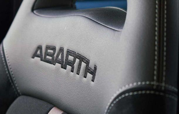 Abarth 695 70 Anniversario: ediție specială cu 180 CP și aripă spate reglabilă manual - Poza 16