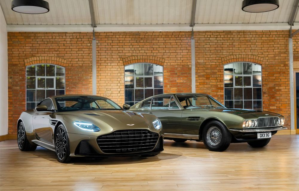 Aston Martin DB5, V8, DBS Superleggera și Valhalla: modelele pe care fanii producătorului britanic le vor admira în viitoarea peliculă James Bond - Poza 1