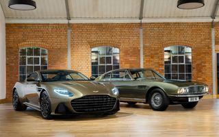 Aston Martin DB5, V8, DBS Superleggera și Valhalla: modelele pe care fanii producătorului britanic le vor admira în viitoarea peliculă James Bond