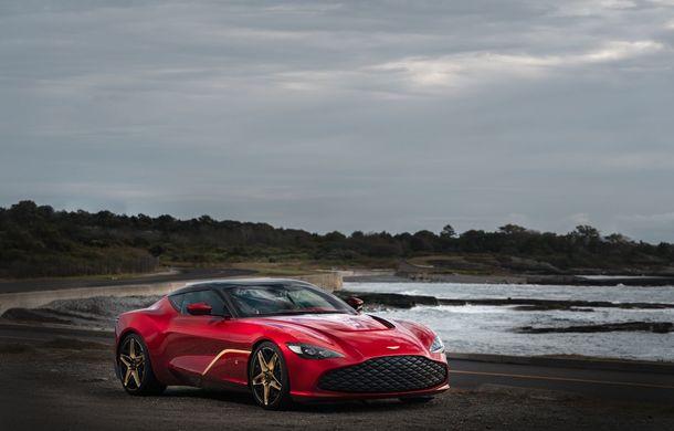 Aston Martin DBS GT Zagato: accesorii exterioare din aur, elemente interioare printate 3D și producție limitată la 19 unități - Poza 2