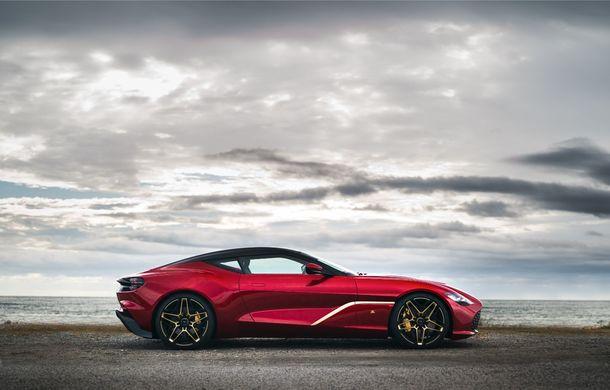 Aston Martin DBS GT Zagato: accesorii exterioare din aur, elemente interioare printate 3D și producție limitată la 19 unități - Poza 4