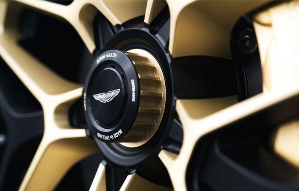 Aston Martin DBS GT Zagato: accesorii exterioare din aur, elemente interioare printate 3D și producție limitată la 19 unități - Poza 14