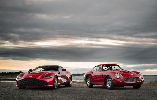 Aston Martin DBS GT Zagato: accesorii exterioare din aur, elemente interioare printate 3D și producție limitată la 19 unități - Poza 6