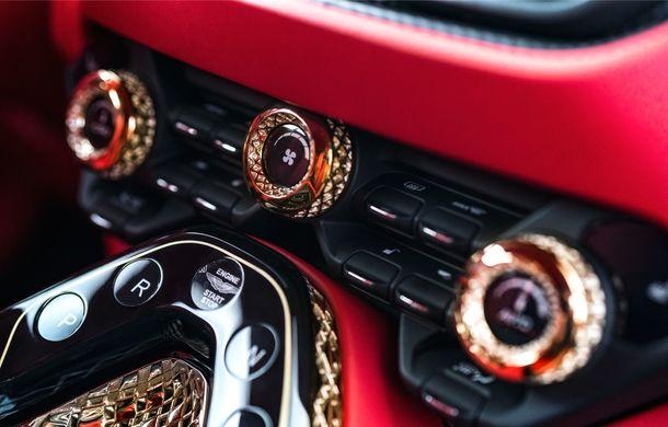 Aston Martin DBS GT Zagato: accesorii exterioare din aur, elemente interioare printate 3D și producție limitată la 19 unități - Poza 20