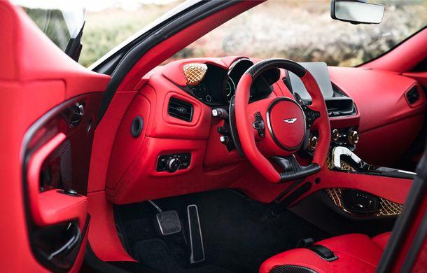 Aston Martin DBS GT Zagato: accesorii exterioare din aur, elemente interioare printate 3D și producție limitată la 19 unități - Poza 18