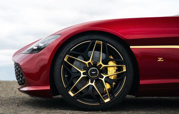 Aston Martin DBS GT Zagato: accesorii exterioare din aur, elemente interioare printate 3D și producție limitată la 19 unități - Poza 8