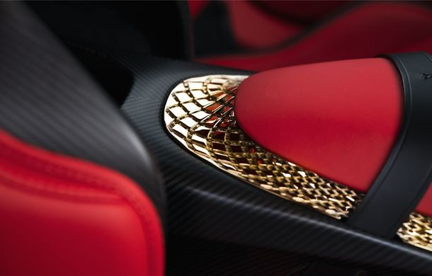 Aston Martin DBS GT Zagato: accesorii exterioare din aur, elemente interioare printate 3D și producție limitată la 19 unități - Poza 19