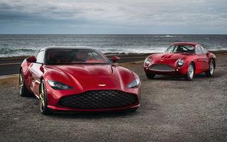 Aston Martin DBS GT Zagato: accesorii exterioare din aur, elemente interioare printate 3D și producție limitată la 19 unități