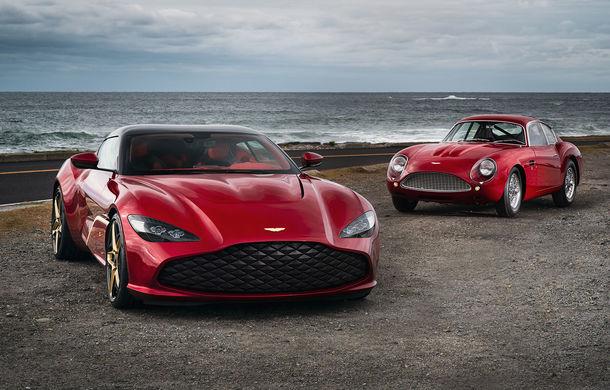 Aston Martin DBS GT Zagato: accesorii exterioare din aur, elemente interioare printate 3D și producție limitată la 19 unități - Poza 1