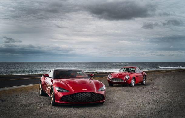 Aston Martin DBS GT Zagato: accesorii exterioare din aur, elemente interioare printate 3D și producție limitată la 19 unități - Poza 7