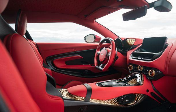 Aston Martin DBS GT Zagato: accesorii exterioare din aur, elemente interioare printate 3D și producție limitată la 19 unități - Poza 17