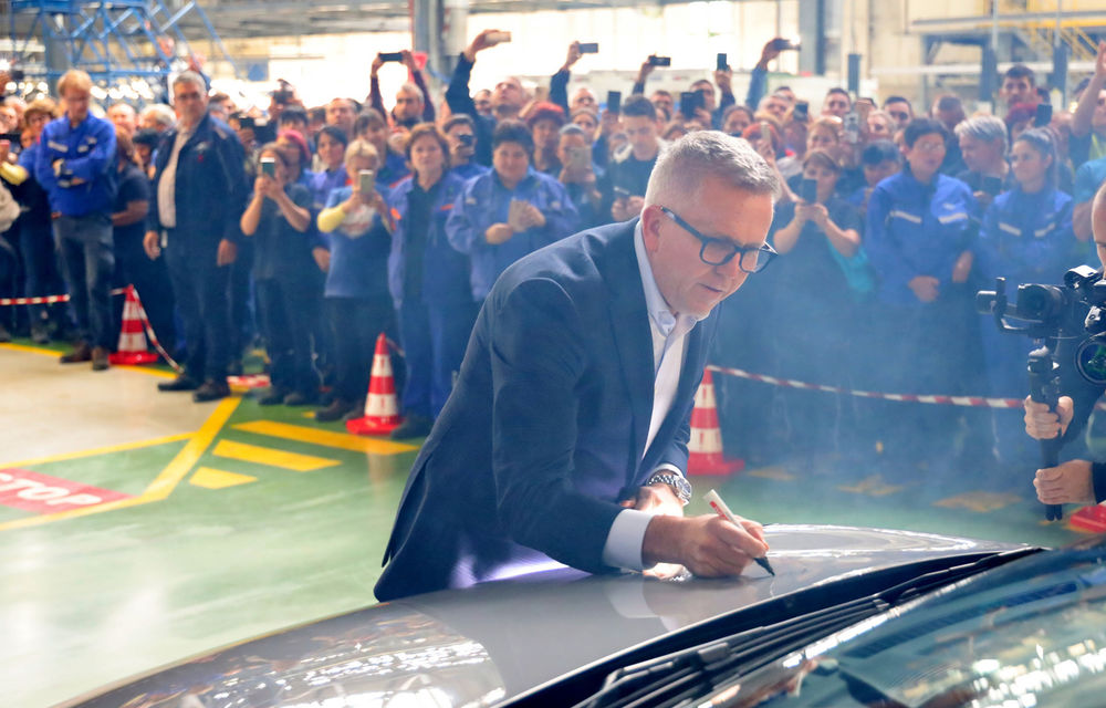 Ford a început în 8 octombrie producția SUV-ului Puma la uzina de la Craiova: angajații vor lucra în trei schimburi - Poza 7