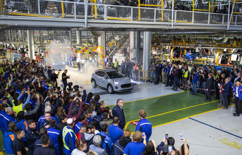 Ford a început în 8 octombrie producția SUV-ului Puma la uzina de la Craiova: angajații vor lucra în trei schimburi - Poza 3