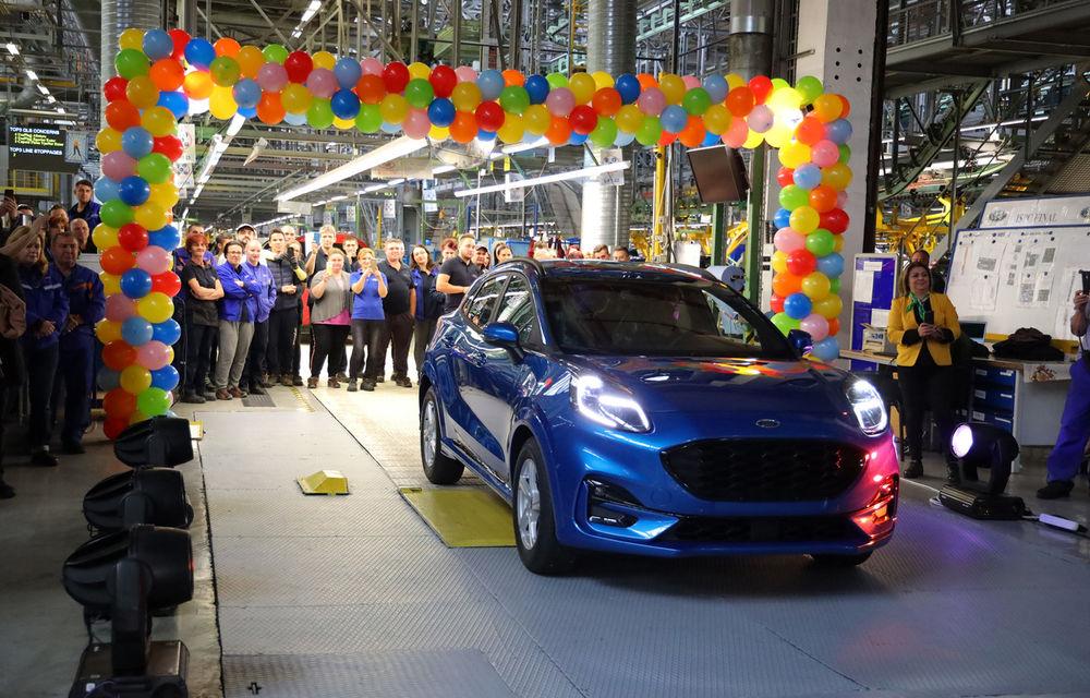 Ford a început în 8 octombrie producția SUV-ului Puma la uzina de la Craiova: angajații vor lucra în trei schimburi - Poza 1