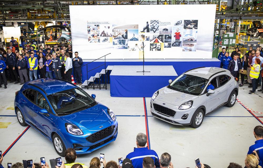Ford a început în 8 octombrie producția SUV-ului Puma la uzina de la Craiova: angajații vor lucra în trei schimburi - Poza 4