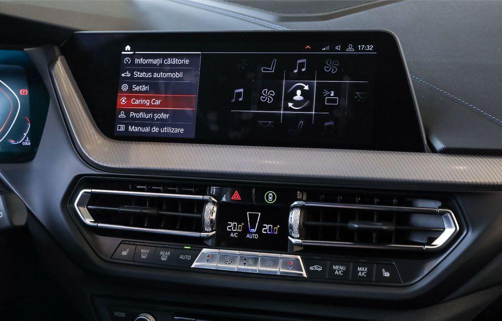 BMW a prezentat noul Seria 1 în România: interfață iDrive disponibilă în limba română și informații despre trafic în timp real. Preț de pornire de 27.600 de euro - Poza 37
