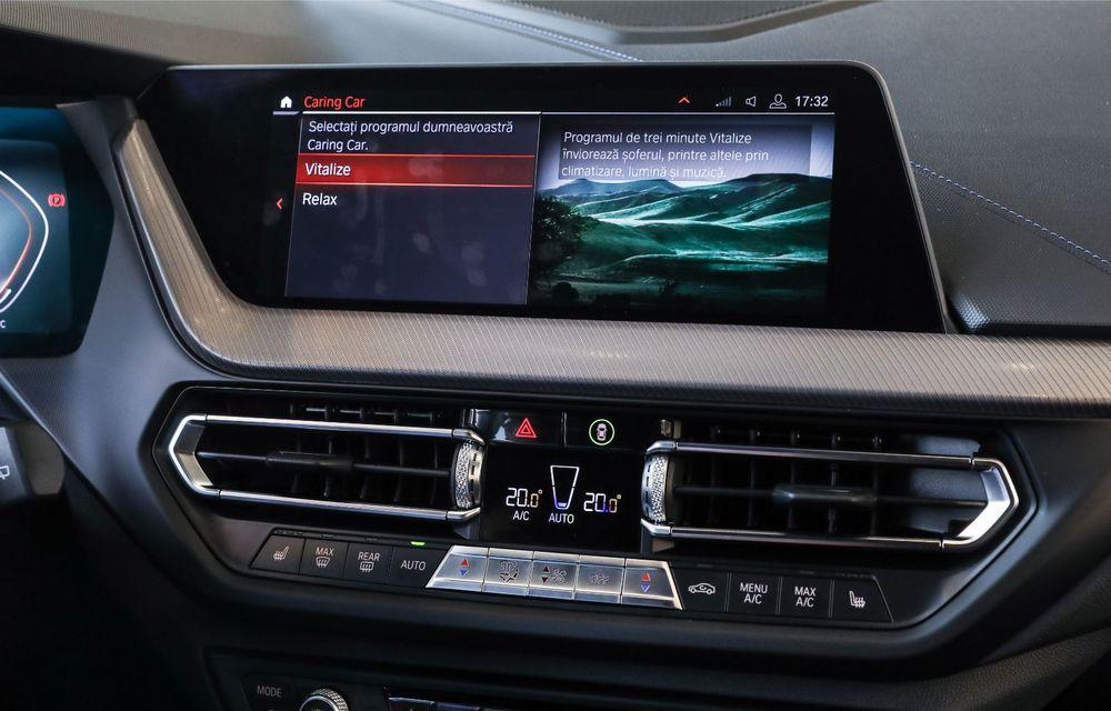 BMW a prezentat noul Seria 1 în România: interfață iDrive disponibilă în limba română și informații despre trafic în timp real. Preț de pornire de 27.600 de euro - Poza 39