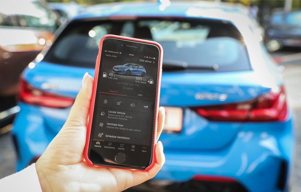 BMW a prezentat noul Seria 1 în România: interfață iDrive disponibilă în limba română și informații despre trafic în timp real. Preț de pornire de 27.600 de euro - Poza 44