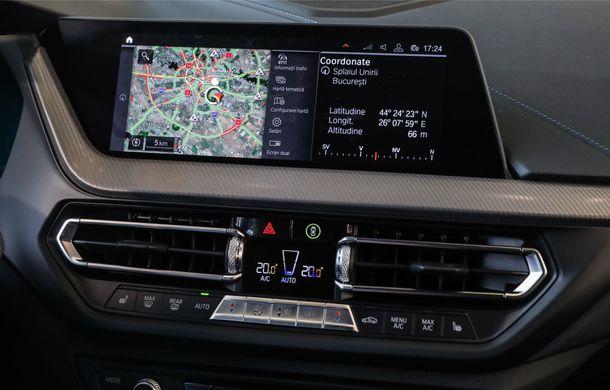 BMW a prezentat noul Seria 1 în România: interfață iDrive disponibilă în limba română și informații despre trafic în timp real. Preț de pornire de 27.600 de euro - Poza 25