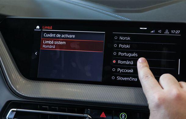 BMW a prezentat noul Seria 1 în România: interfață iDrive disponibilă în limba română și informații despre trafic în timp real. Preț de pornire de 27.600 de euro - Poza 29